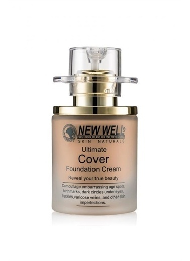 New Well New Well Cover şişe Fondöten No:02 30 ml Renksiz